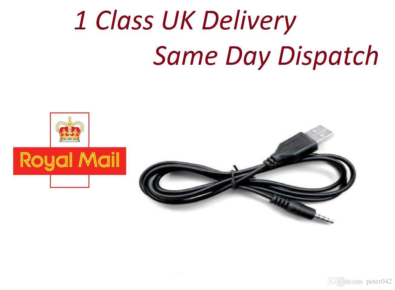 USB Cable Aux 3.5mm Male to Audio Type A Male Plug Connector Headphone Jack A2