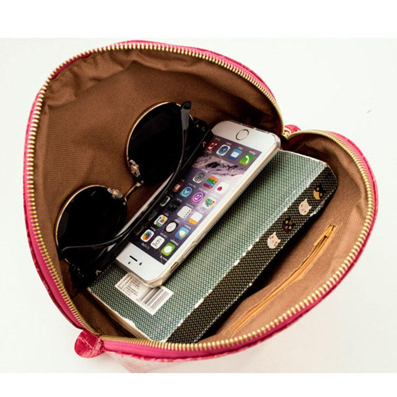 2017 Cosmetic Bags Crocodile Leopard Print Travel Zipper Leather Women Makeup Waterproof Shell Bags Box Beauty Case
