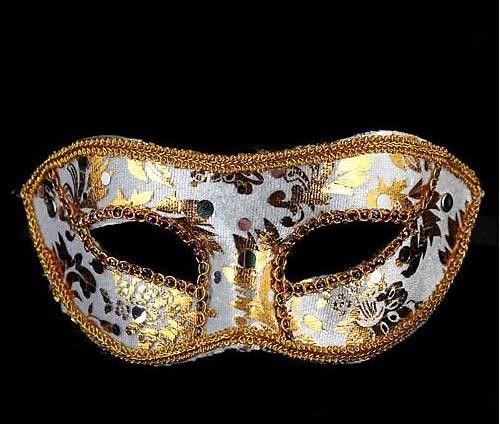 Half Face Mask Halloween Mask Mask Halloween male, Venice, Italy, flathead lace