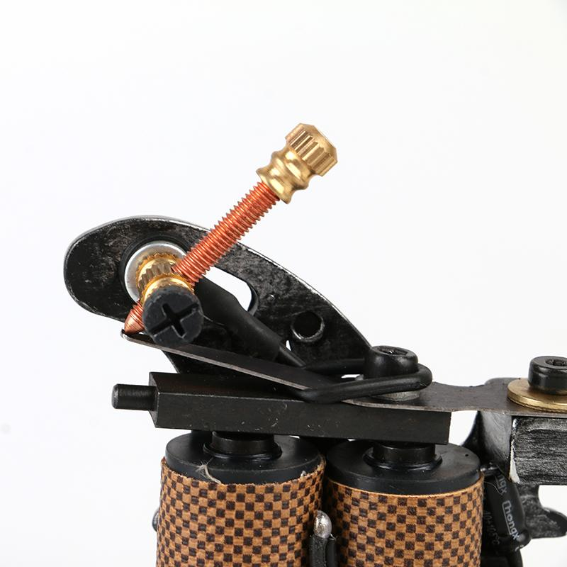 Hot Sale High Quality Tattoo Machine for shade black Cast Iron Tattoo Motor Gun with high quality