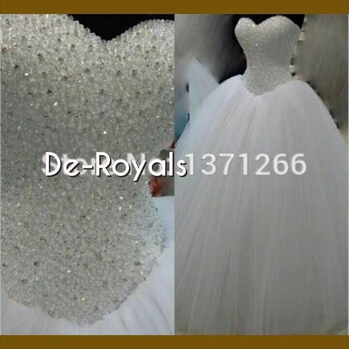 Bling Bling Tulle Ball Gown Wedding Dresses Sweetheart Neckline ...