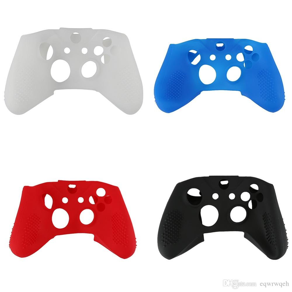 Soft Silicone Rubber Skin Protective Case Cover for Microsoft Xbox One S Controller
