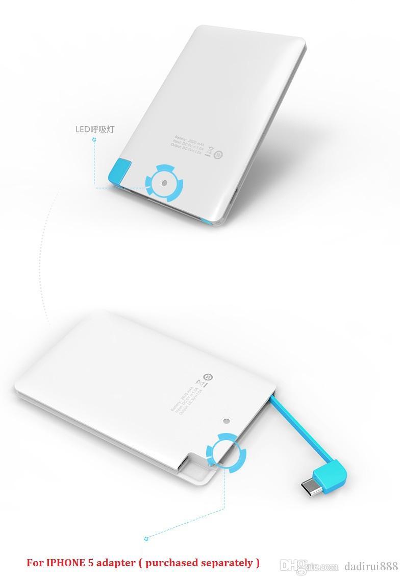 Sıcak ultra-ince Kart Mobil Güç Bankası 26000mah Taşınabilir cep telefonu Powerbank Telefon Evrensel Şarj fabrika toptan, Özel LOGO