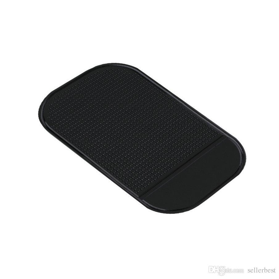 Big Size13cm * 7cm bonito fácil de usar 100% Anti Slip Super pegajosa sucção Do Painel Do Carro magia Almofada Pegajoso Mat para o Telefone PDA mp3 mp4 TODA A COR