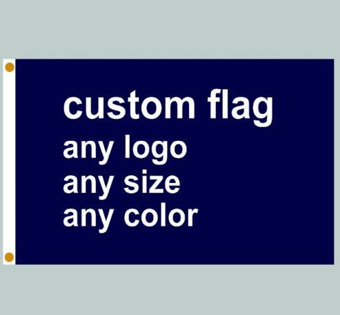 20pcs Fedex Free Shipping Custom Flag Banner Printing Any Size company  advertisement flags and banners Polyester Fabric with Copper Grommets