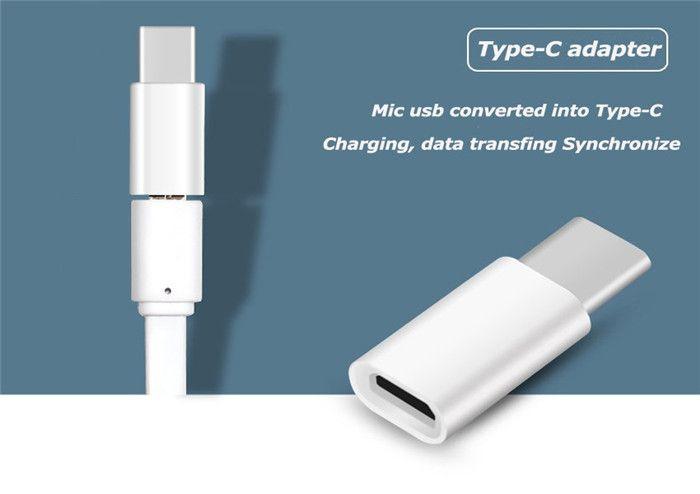 2016 USB 3.1 USB tipo C para de Micro USB Cable adaptador convertidor para Xiaomi Lg G5 Nexus 5x 6p OnePlus 2 Macbook Tipo-c Usb-c C Cabo