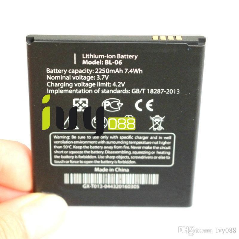 20 قطعة / الوحدة الأصلي BL-06 BL06 bl 06 2250 مللي أمبير بطارية ل thl t6s t6c t6 الموالية بطاريات الهاتف المحمول بطاريات batterie batterij