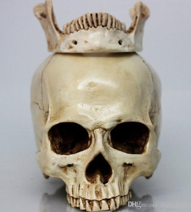 2017 medical archeology1: 1 human skull model life size resin, Skeleton