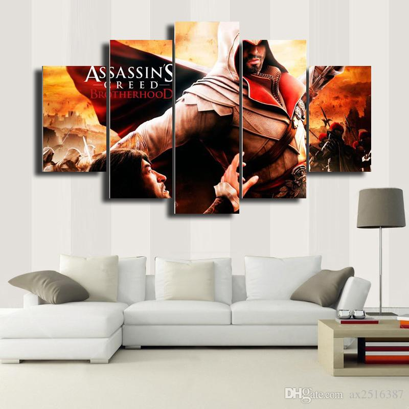 Assassin's Creed HD Picture Canvas Print Painting Wall Art For Wall Decor Home Decoration Cheap Artwork DH012
