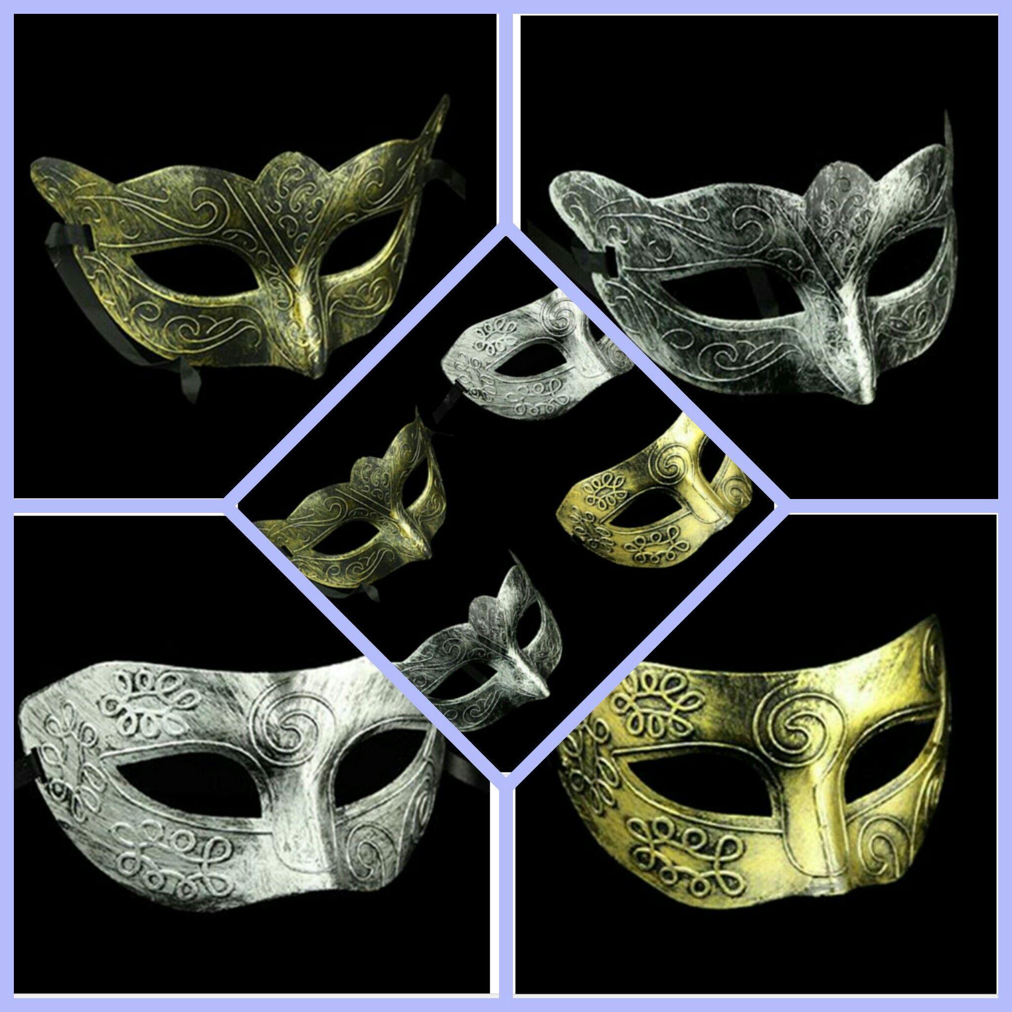 4d5ca2a36c0e4 Retro Roman Prince Gold/ Silver Mask Repli Jazz Man Mask At Masquerade  Silver Carnival Halloween Vintage Half Face Mask WL02 Masked Ball Costumes  Masked ...