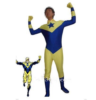 Foreign superhero costume blending Zentai Halloween costume dress leotard tights props Cosplay Fashion Show
