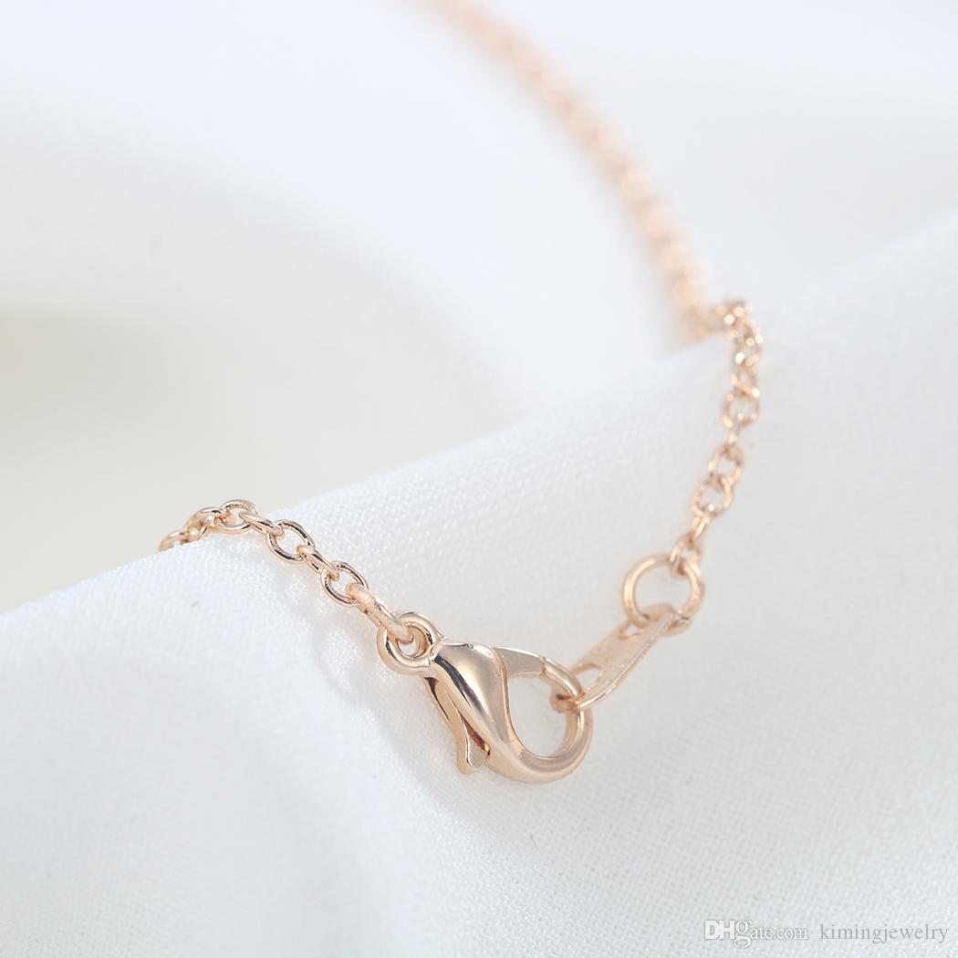 Cute Unique Ballerina Girl Dance Chain Necklace Pendant Statement Jewelry Gift for Women Best Friends Forever Love
