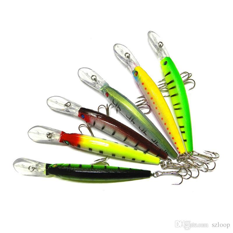 i 14.5 cm 14.7g grande gioco esche da pesca plastica esca dura attrezzatura da pesca pesca pesce wobbler minnow richiamo artificiale swimbait 2508012