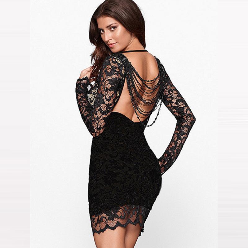 Pretty woman lace dress