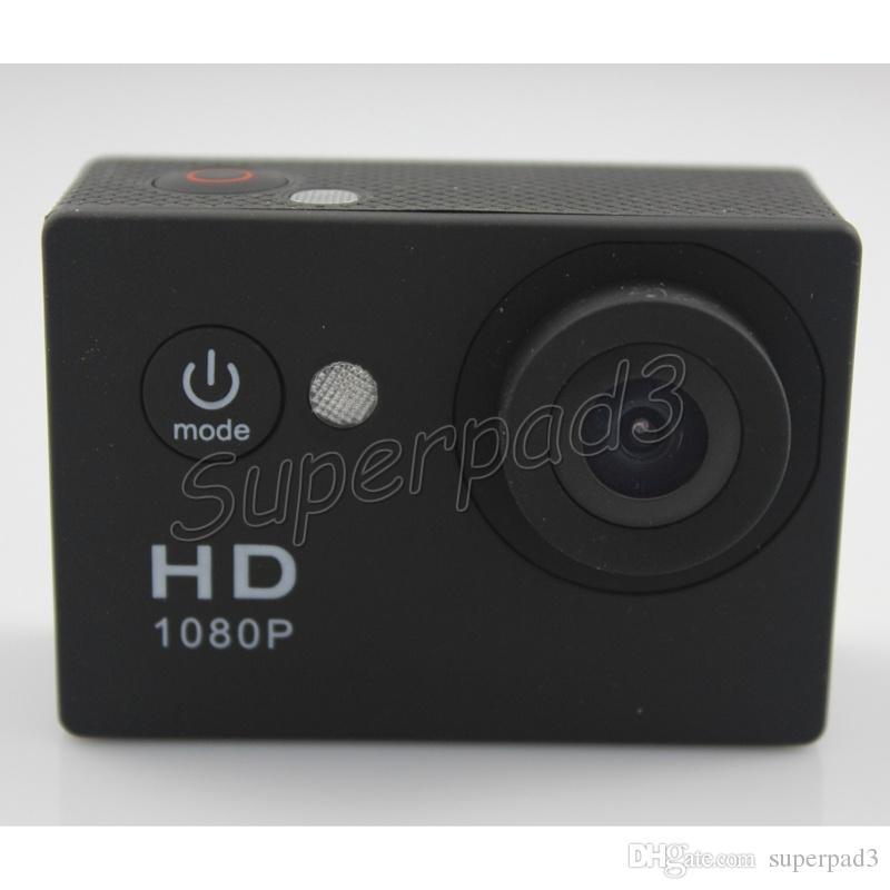 EKEN A9 Sport Caméra 2 Pouces LCD Écran HD 1080 P 120 Degrés Objectif 30 M Étanche Action Caméra Vidéo Mini DV Plongée Voiture DVR Livraison Gratuite
