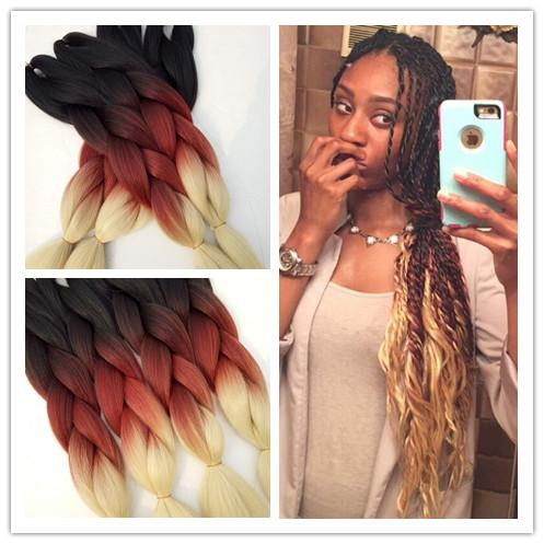 24 5packs500g1breddish brownbeige synthetic ombre jumbo 24 5packs500g1breddish brownbeige synthetic ombre jumbo braiding hair extensions african box ombre braiding hairstyles cabelo zopfe synthetic jumbo pmusecretfo Gallery
