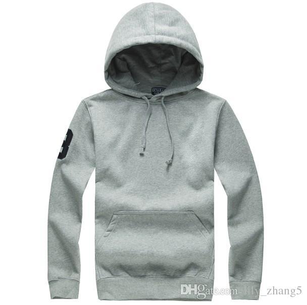 Frete grátis nova venda Quente Mens polo Hoodies e Moletons outono inverno casual com um capuz jaqueta esporte hoodies dos homens