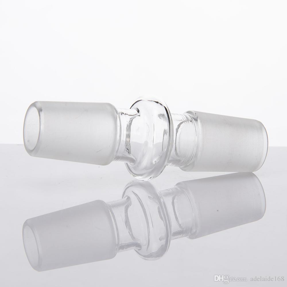 Glas Bong Adapter 10mm 14mm 18mm Joint Female Male Joint Wasserleitung Connector Converter Dropdown Dropdown Downstem 176