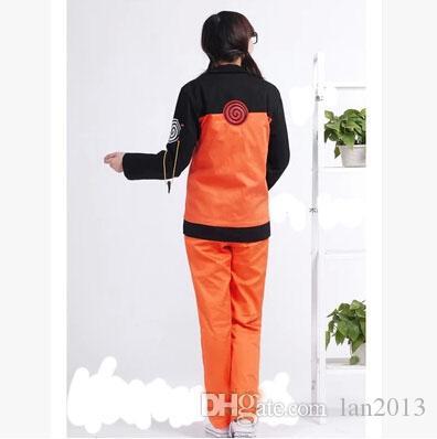 Ücretsiz Kargo! Cosplay Naruto Naruto COS II Elbise Giysi Naruto Naruto Shippuden Cospaly Kostüm Suit Nokta