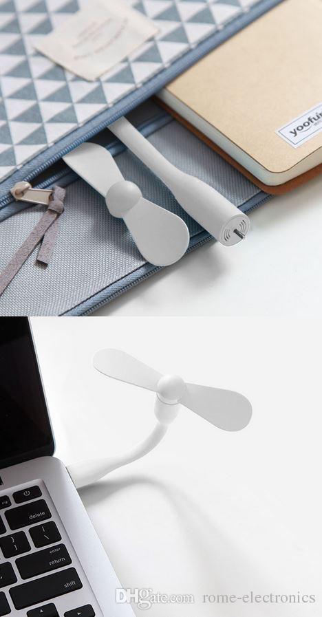 USB-вентилятор гаджеты гибкий USB Портативный мини-вентилятор холодильник кулер для Xiaomi Power Bank ноутбук ноутбук энергосбережения