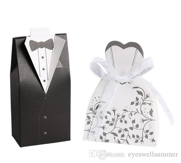 Livraison gratuite + boîtes de mariage boîte arrivée nouvelle mariée et le marié faveur boîtes de faveurs de mariage, = /