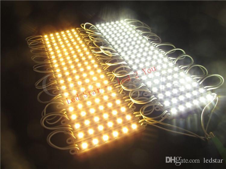 High Brightness 6 LEDs SMD 5050 Led Modules Waterproof Advertisement Design Led Light Modules DC 12V 2.4W
