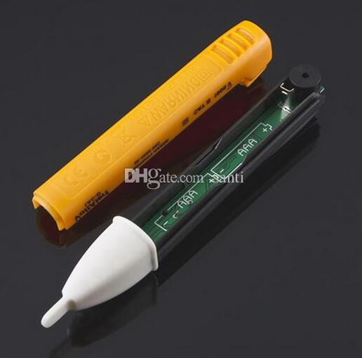 Tomada de Parede AC Power Outlet Tensão Detector Sensor Tester Caneta de Teste Elétrico LEVOU Indicador de Tensão de Luz 90-1000 V