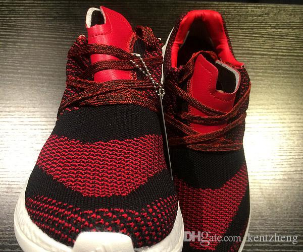 18ba30da5 ... Com caixa original Unisex Y-3 Y3 Puro Primeknit Boost ZG Kint Men  Sneakers PK ...