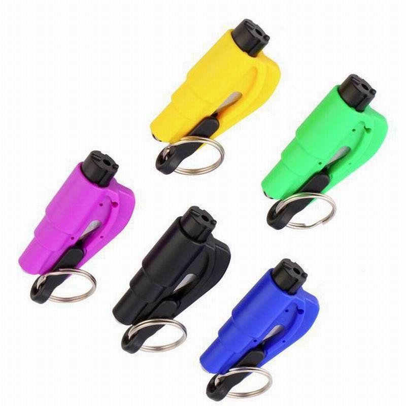 Multi-function Emergency Mini Safety Hammer Auto Car Window Glass Breaker Seat Belt Cutter Rescue Hammer Car Life-saving Escape Tool