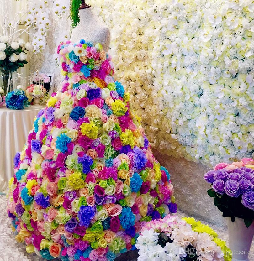 Искусственные гортензии цветочные головки пластмассовые цветы гортензии цветочные головки со стеблем для свадьбы центральные цветочные декорации