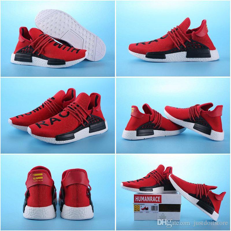 ecf73bb32e4 Pharrell Williams X Adidas NMD Human Race Green YC1298