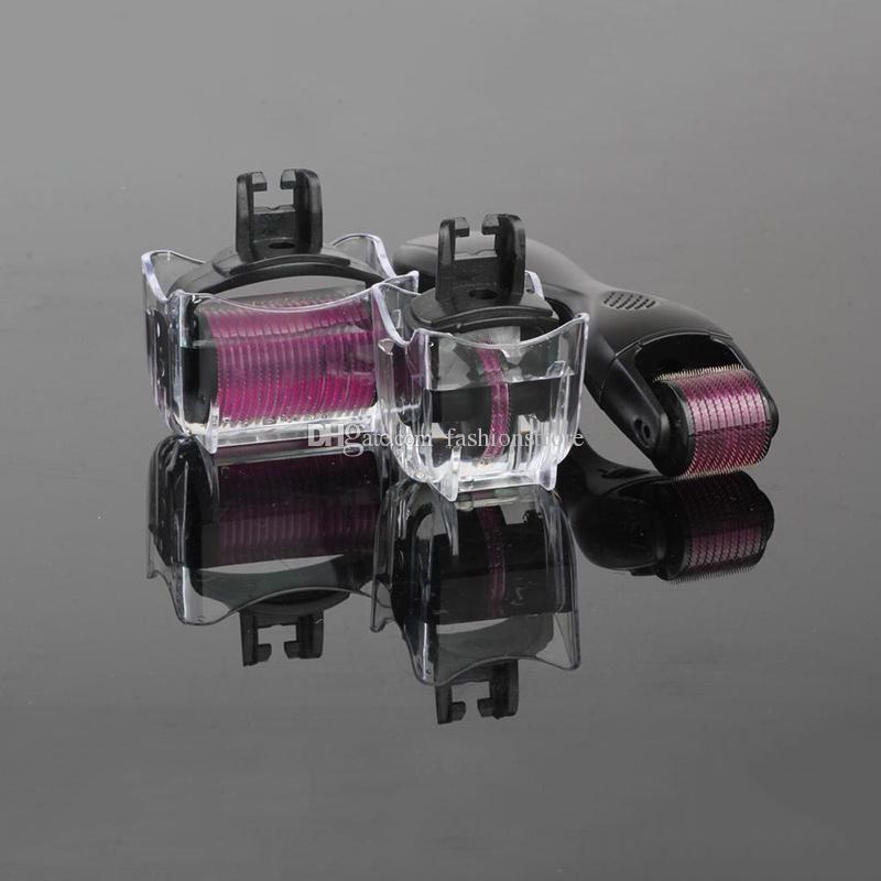 1 in 0.5mm 1.0mm 1.5mm 마이크로 바늘 더마 롤러 스킨 페이셜 케어 키트 테라피