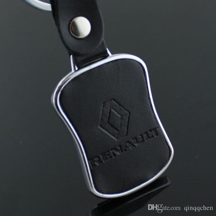 5 pçs / lote New Renault logotipo do carro chaveiro chaveiro de Metal 3D trinket promocional acessórios do carro chaveiros