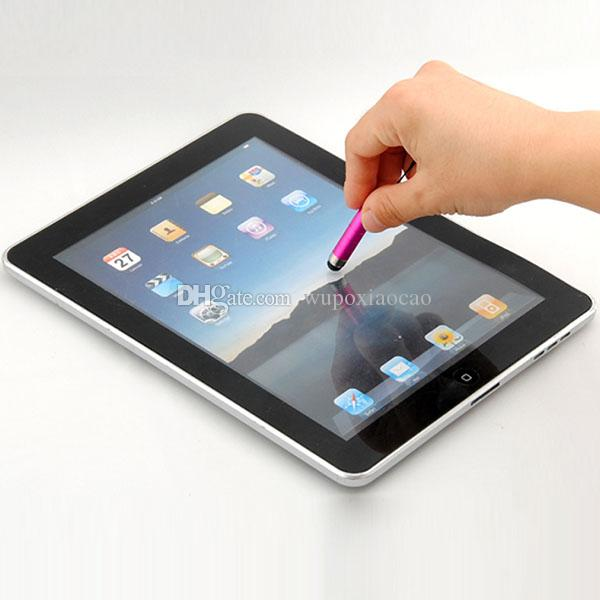 New Mini Stylus Touch Screen Pen With Anti-Dust Plug For ipad iphone For Capacitive Screen Phone and Tablet PC
