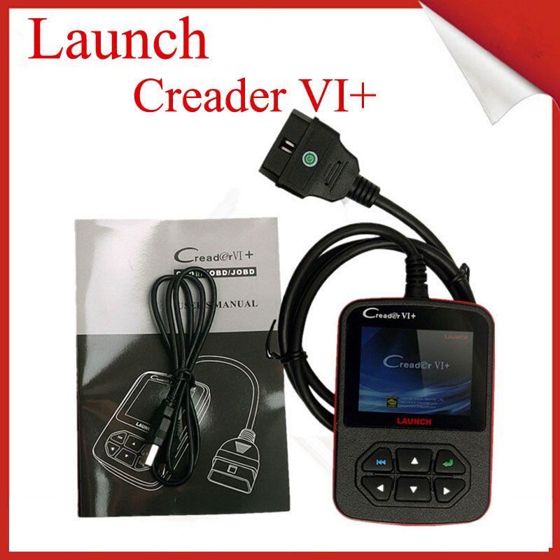 2018 original launch creader vi obd2 code scanner creader 6 obdii eobd code reader auto car. Black Bedroom Furniture Sets. Home Design Ideas