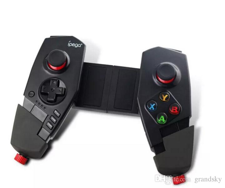 New IPEGA PG - 9055 Red Spider Wireless Bluetooth Gamepad Telescopic Game Controller Gaming Joystick For Android IOS Tablet PC