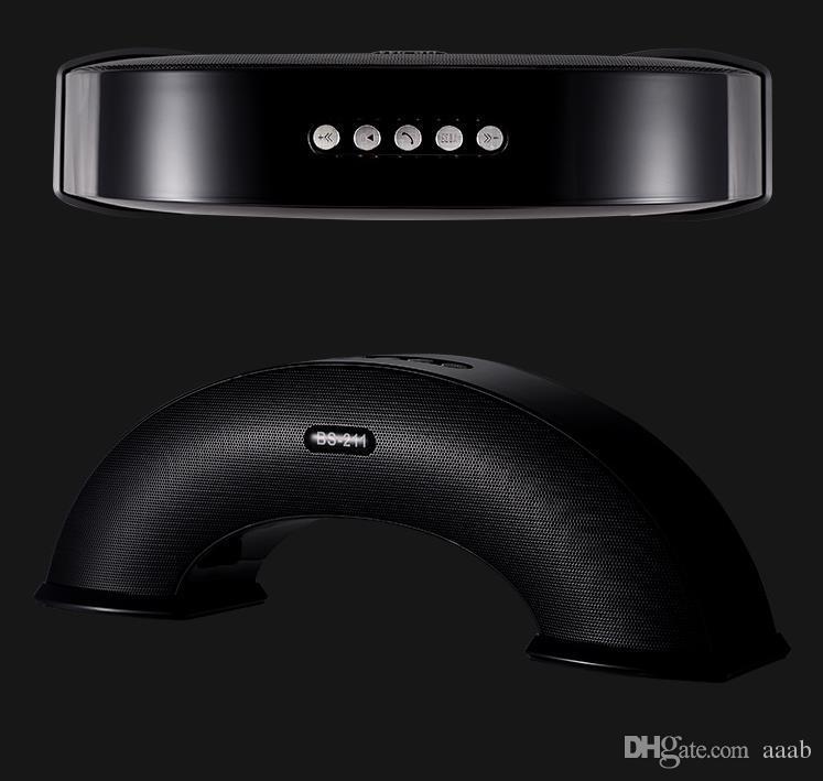 O apoio portátil do orador do orador estereofónico sem fio de Bluetooth da ponte de 2018-Rainbow chama / FM / AUX / TF / movimentação de USB