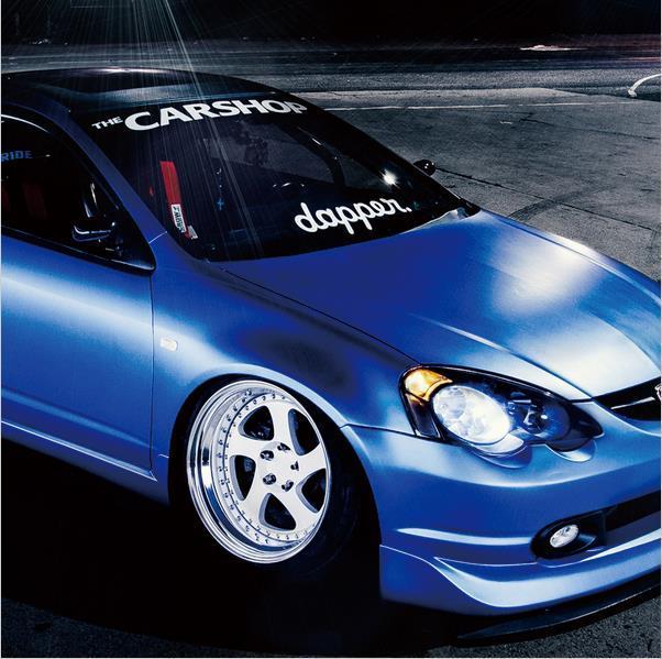 Cm White Dapper Carpe Diem Car Styling Hellaflush - Front window stickers for car