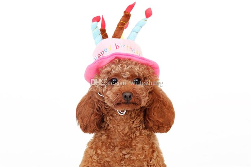 2019 Cute Dog Birthday Hat King Dressing Cap Christmas Halloween