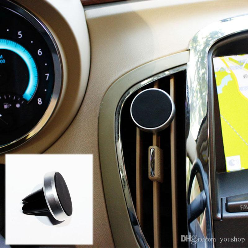 Car Mount Magnetic Air Vent Universal Mobile Cell Phone Holder for iPhone 6 Plus for Samsung Galaxy S6/S7 Edge for LG