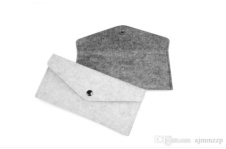 Filz Bleistift Taschen Mode Student multifunktionale Schreibwaren Taschen Stift Tasche Karte Paket Tasche Organizer Drop Shipping Kann angepasst werden
