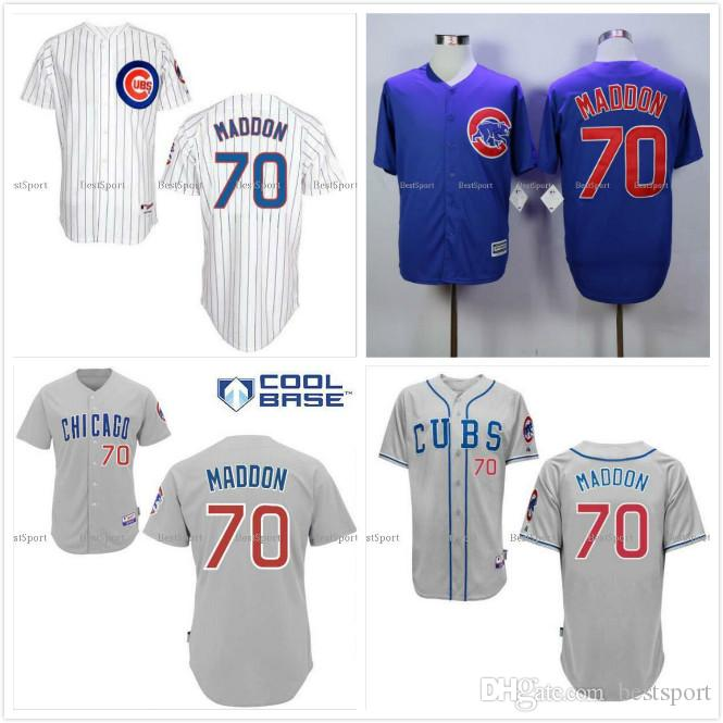 edc93dbf627 sweden 2017 chicago cubs 70 joe maddon jersey white home blue alternate gray  road premier stitched