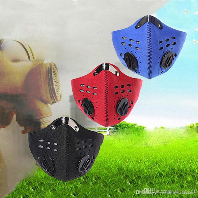 2016 Bicycle Cycling Mask Anti-pollution Anti-dust Motorcycle Cycling Riding Snowboarding Climbing Half Face Masks Non-woven Fabric