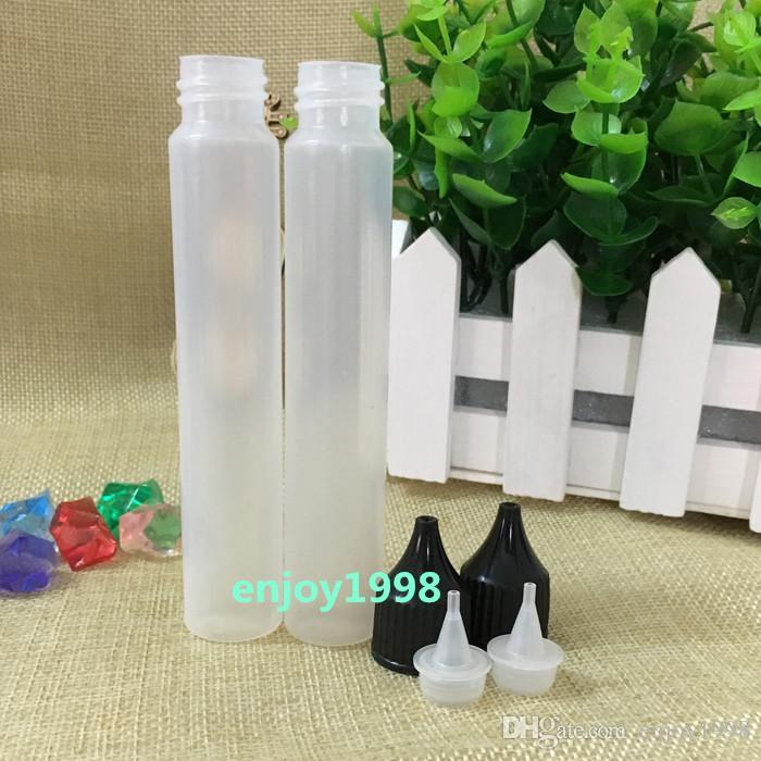Стиль пера Empty Bottle E Liquid 30мл Big Mouth Бутылка Мягкого пластиковых 1 капельница Pen бутылка бутылки паров оптом Бесплатная доставка