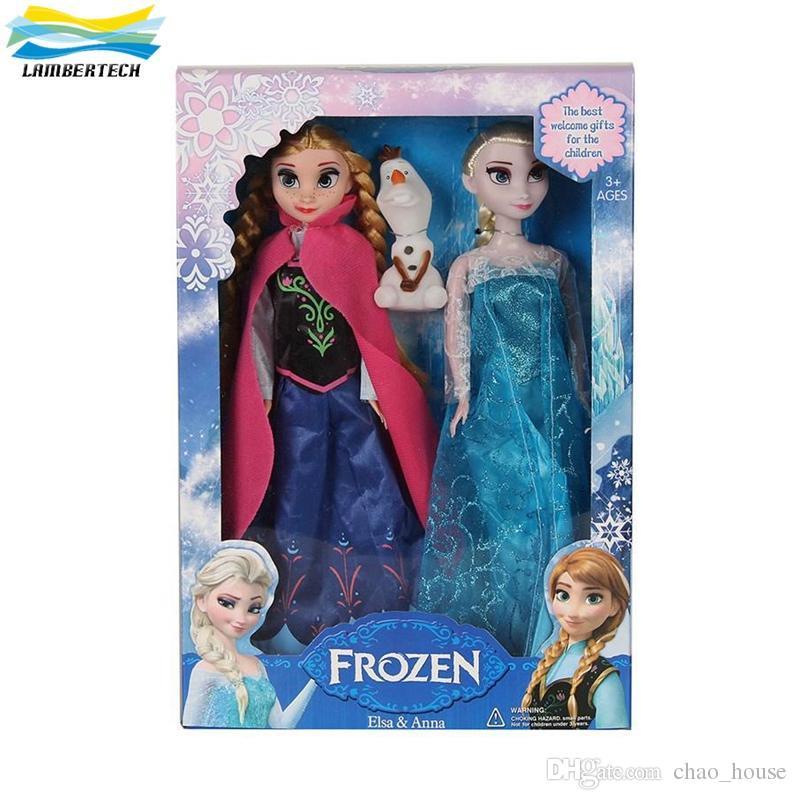 Cheap Bedroom Sets Kids Elsa From Frozen For Girls Toddler: Cheap Frozen Anna Elsa Olaf Toys Princess Dolls Action