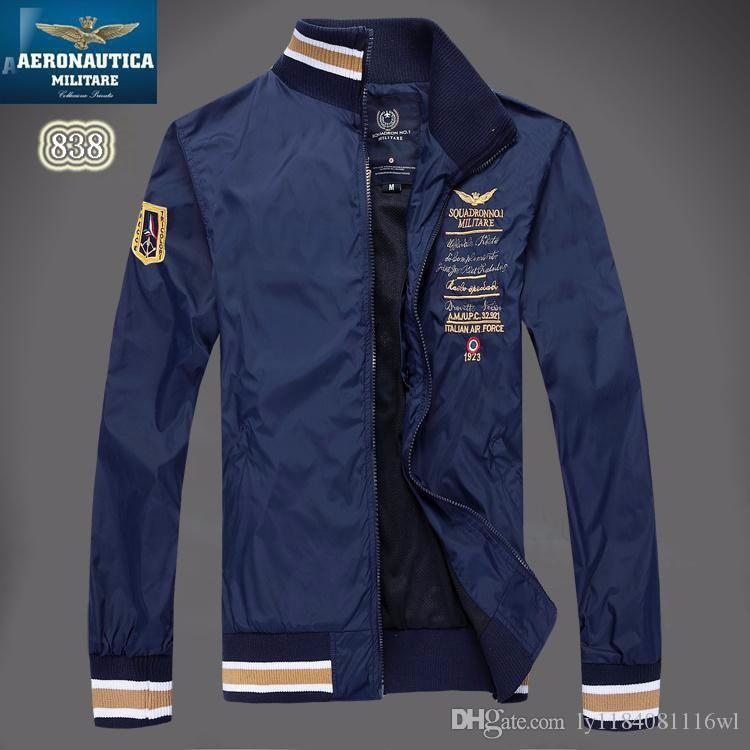 Air Force 1 Brand Aeronautica Militare Men Jacket ,Men'S Sports ...