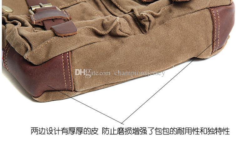 AKARMY homem saco ocasional ombro saco de lona dedicado para IPAD saco de lona diagonal pequeno saco 551