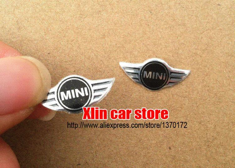 Hot Sale Mini Car Remote Key Fob Logo Emblem Sticker Key Shell