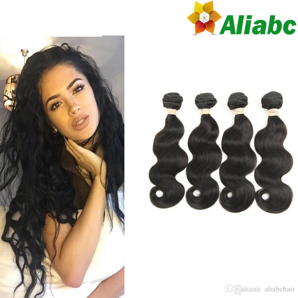 Aliabc Hair Indian Loose Wave Lace Closure 1 Pc Natural Color 8-20 Inch 4*4 Non-remy 100% Human Hair Extensions Free Shipping Year-End Bargain Sale Human Hair Weaves