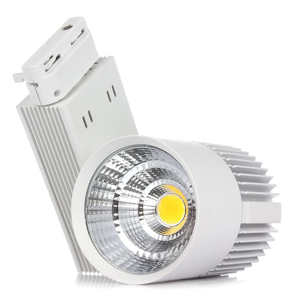 CE RoHS LED lumières En Gros 30W COB Led Piste Lumière Murale Applique Soptlight Suivi led AC 85-265V Led éclairage Livraison gratuite 55550